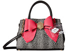 Betsey Johnson Removable Bow Satchel