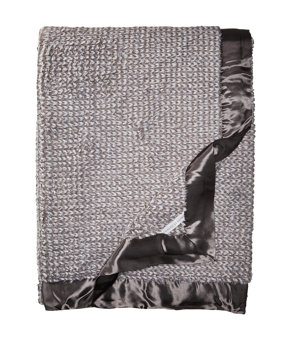Little Giraffe - Luxe Herringbone Adult Throw (Charcoal) Accessories Travel