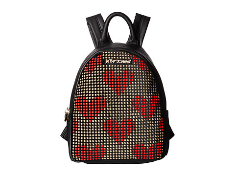 Betsey Johnson Studded Backpack - Red