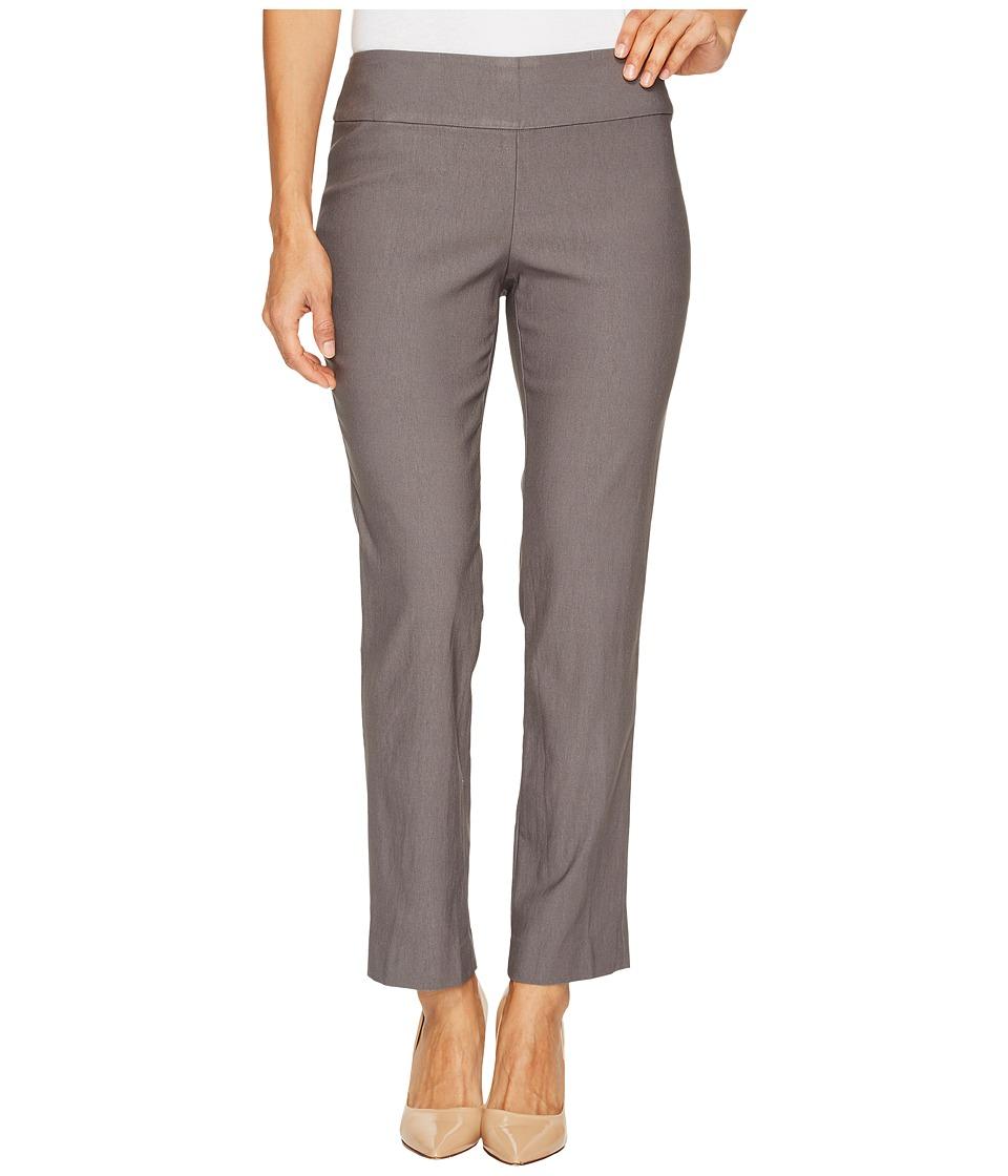 NIC+ZOE Petite Wonderstretch Pant (Warm Grey) Women