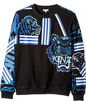 Kenzo Kids - Printed Long Sleeves Sweatshirt (Big Kids)