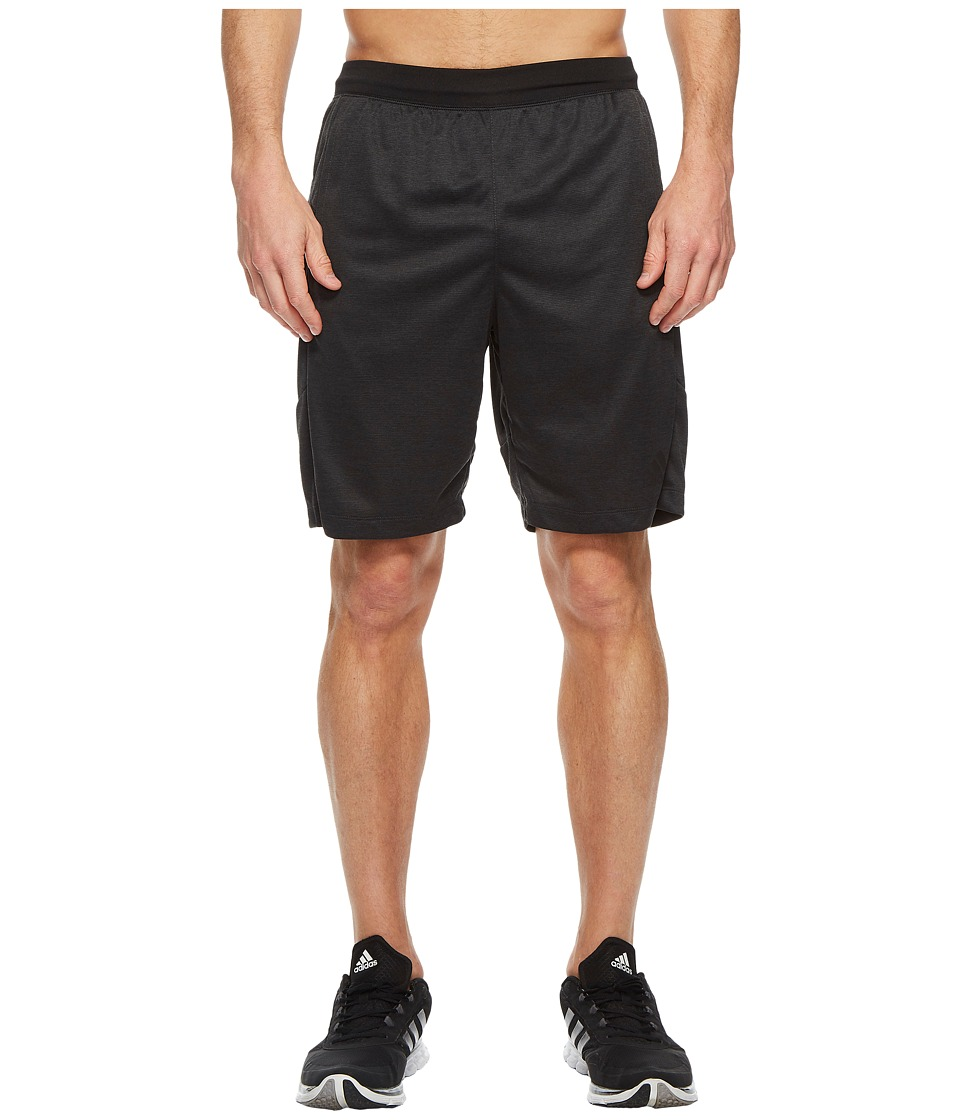 adidas SpeedBreaker Hype Shorts (Carbon/Colored Heather) Men
