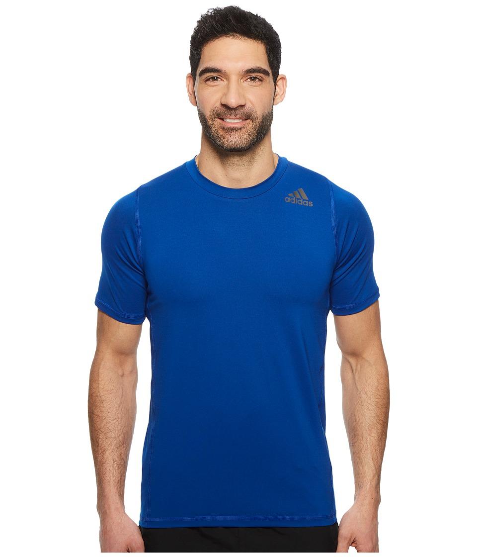 adidas Alphaskin Sport Fitted Short Sleeve Tee (Collegiate Royal) Men