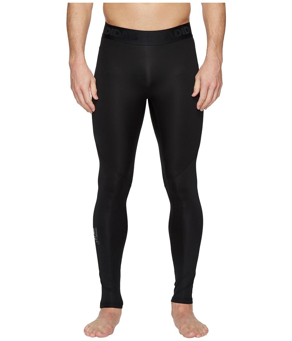 adidas Alphaskin Sport Long Tights (Black) Men