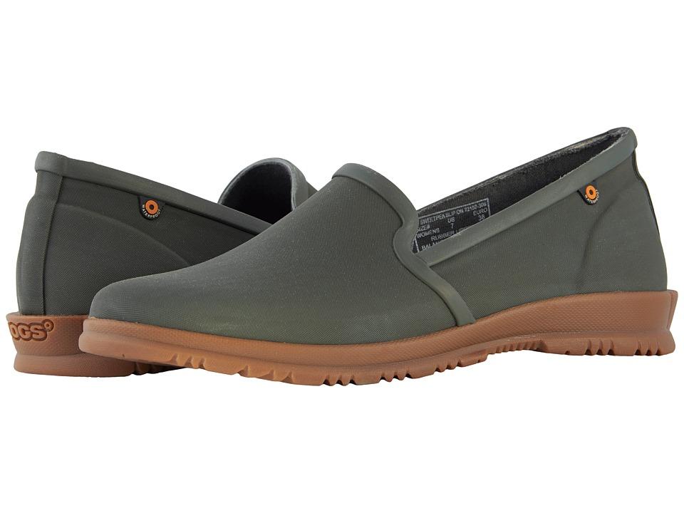 Bogs Sweetpea Slip-On (Sage) Women's Rain Boots