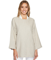 Tahari by ASL - Long Sleeve Linen Jacket