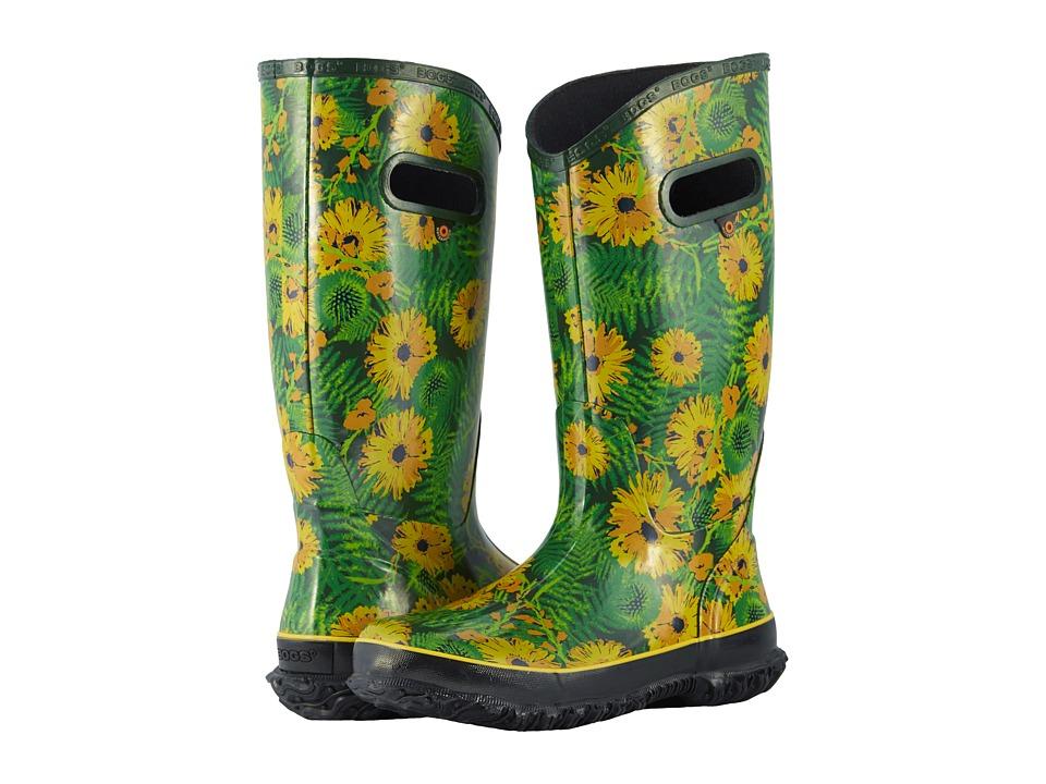 Bogs Rainboot Living Garden (Green Multi) Women's Rain Boots