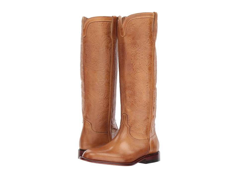 Lucchese - Francesca (Tan) Cowboy Boots