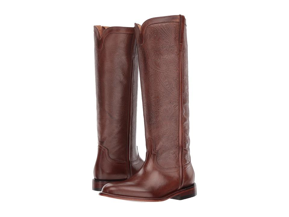 Lucchese Francesca (Mahogany) Cowboy Boots