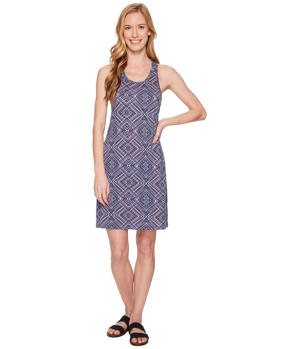 Smartwool Basic Merino 150 Pattern Dress (Dark Blue Steel) Women