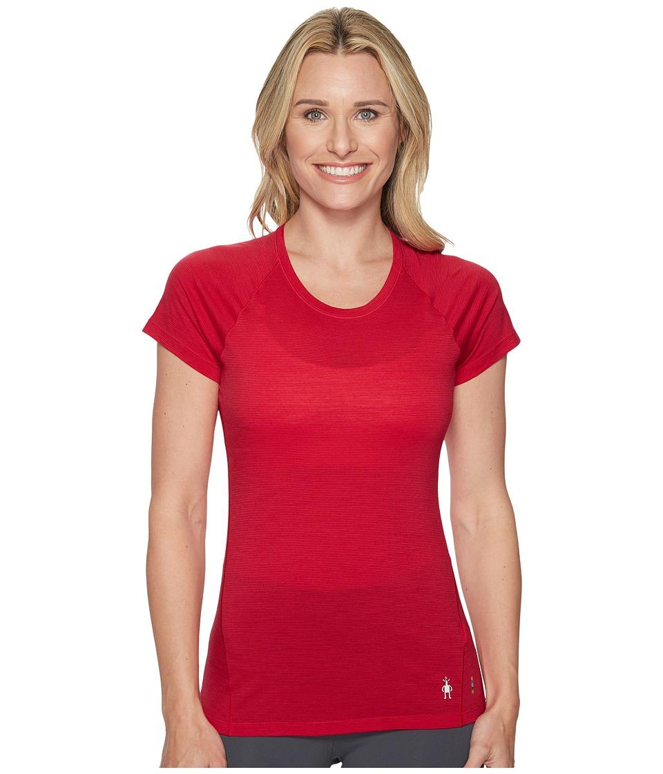 Smartwool Merino 150 Baselayer Pattern Short Sleeve (Potion Pink) Women