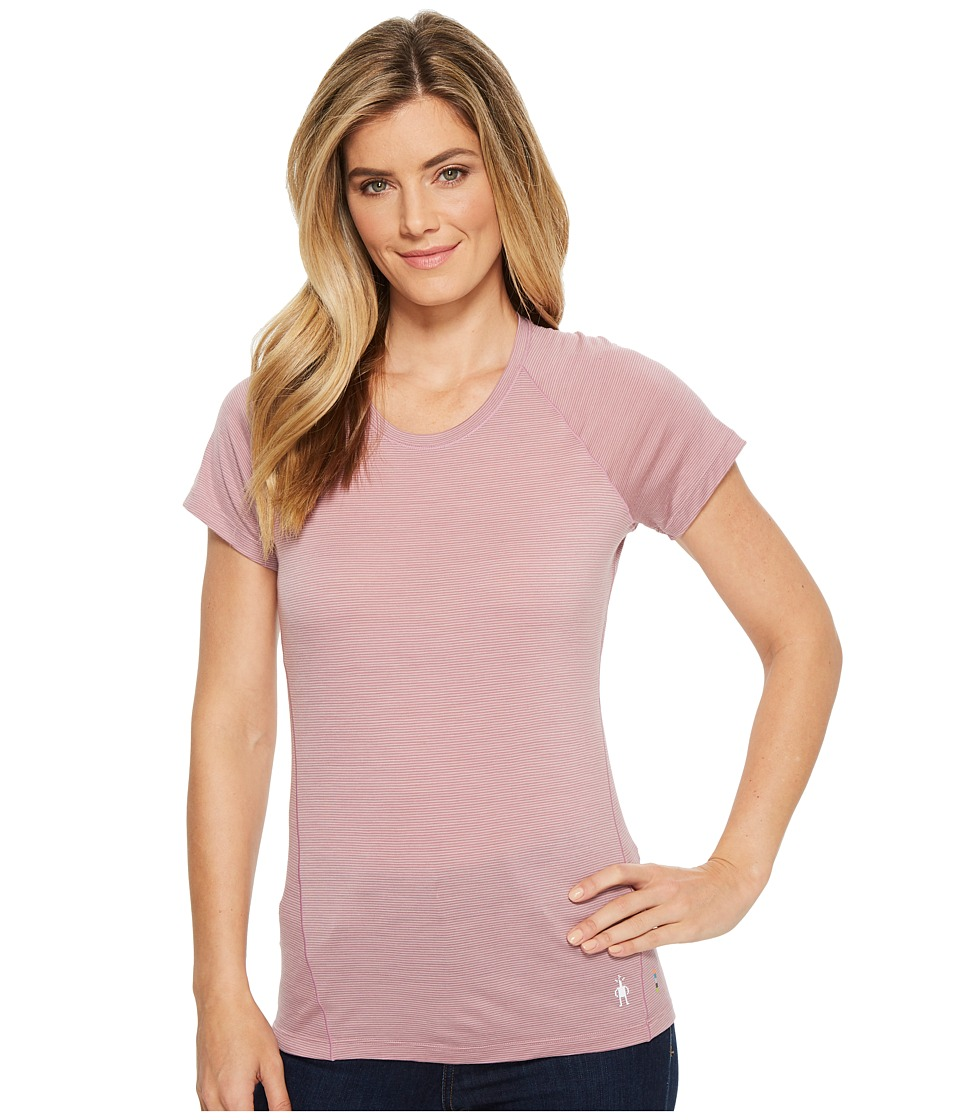 Smartwool Merino 150 Baselayer Pattern Short Sleeve (Woodrose) Women