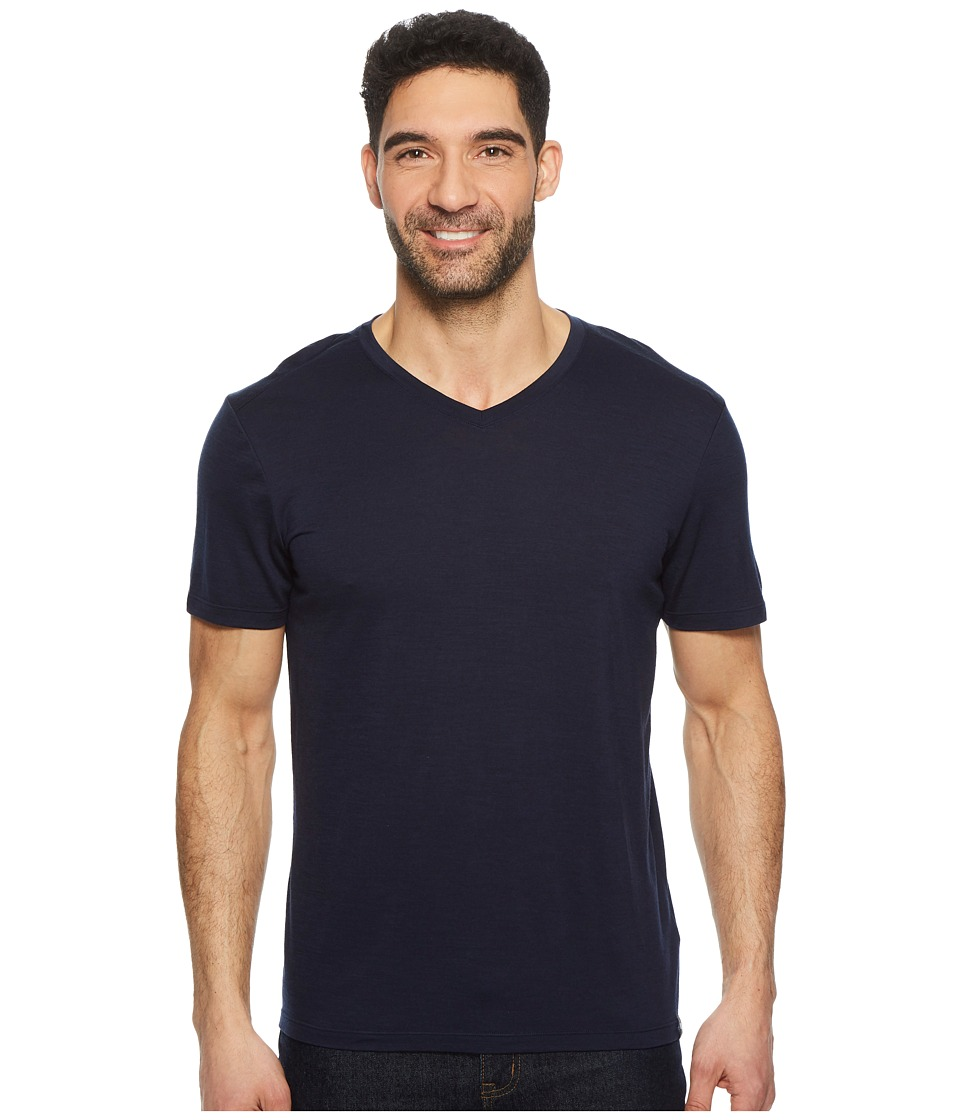 Smartwool Merino V-Neck (Deep Navy) Men
