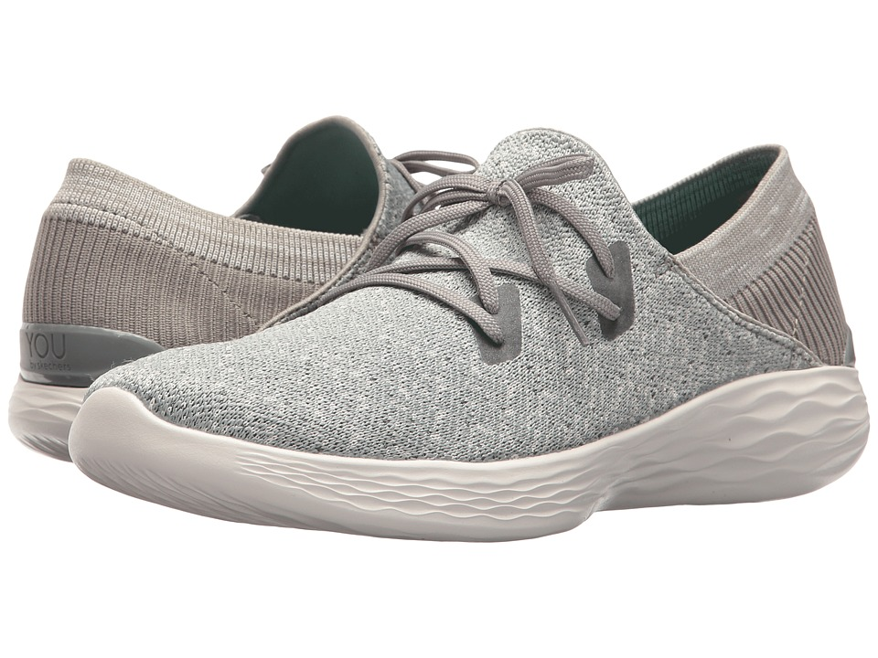 SKECHERS Performance You - Exhale (Gray) Women's Shoes