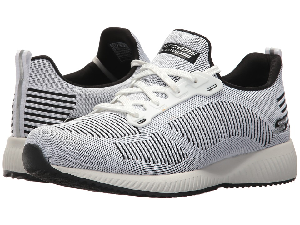 BOBS from SKECHERS Bobs Squad Twinning (White/Black) Women