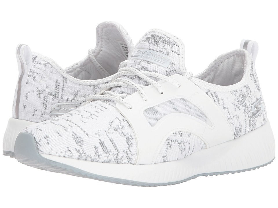 BOBS from SKECHERS Bobs Squad Glossy Finish (White) Women