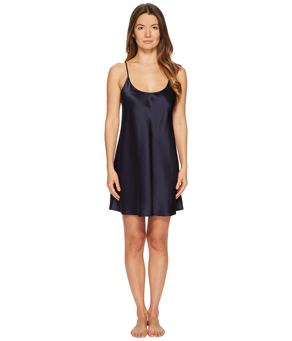 La Perla Silk Chemise (Midnight Blue) Women's Pajama