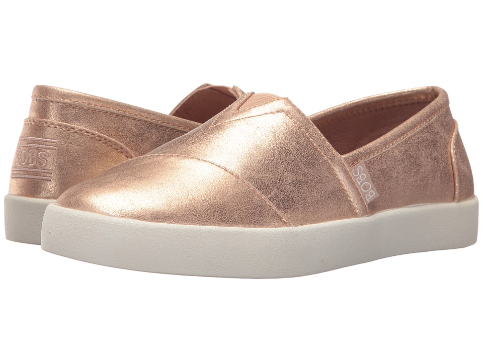 BOBS from SKECHERS Bobs B-Loved Liquid Sparkle (Rose Gold) Women