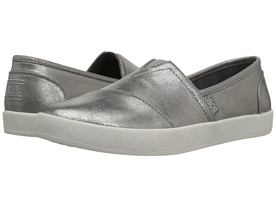 BOBS from SKECHERS Bobs B-Loved Liquid Sparkle (Pewter) Women