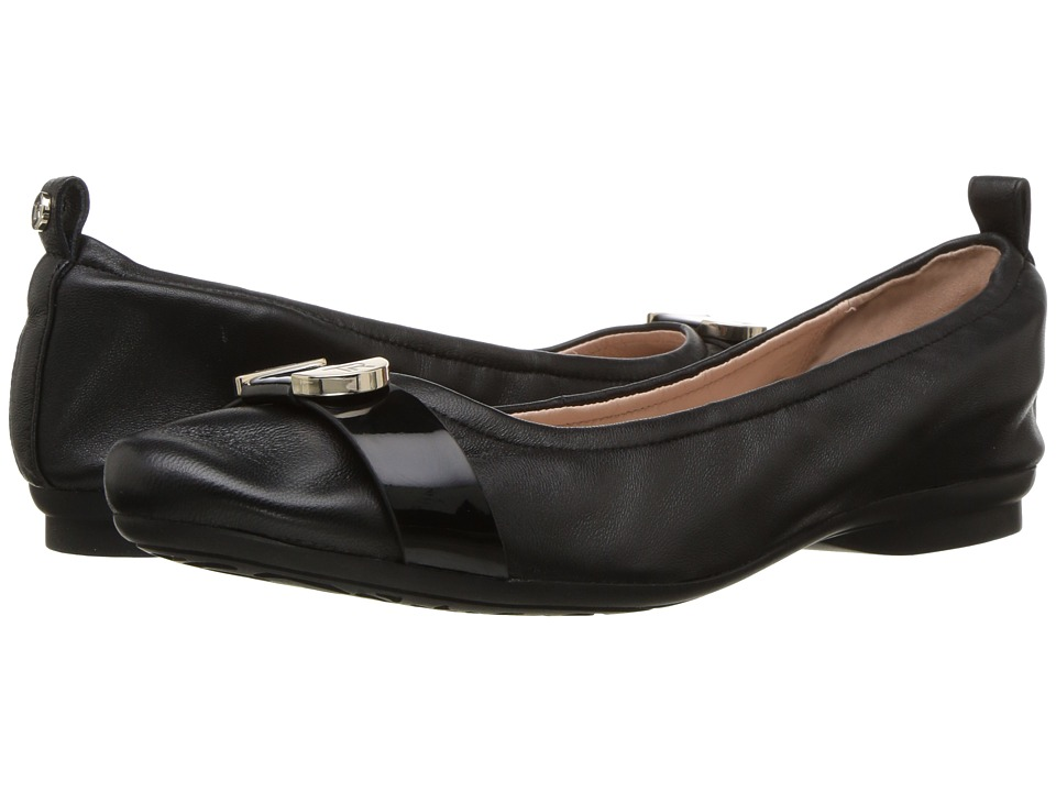 Taryn Rose - Abriana (Black/Black Nappa/Soft Patent) Womens Shoes