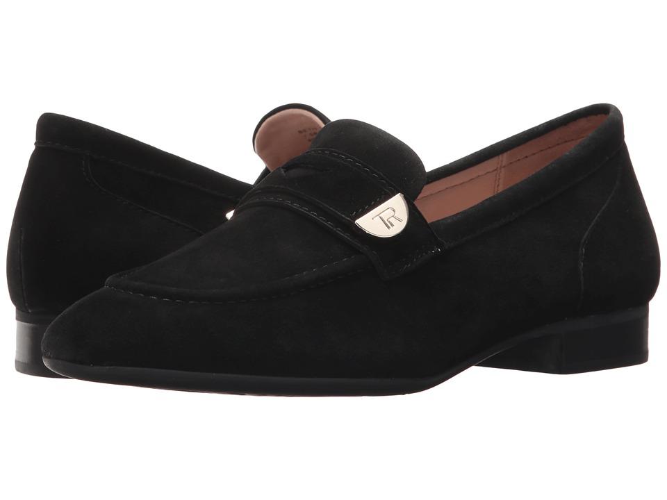 Taryn Rose Beth (Black Silky Suede) Women's Shoes