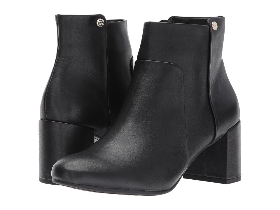 Taryn Rose - Camille (Black Silky Cow) Womens Dress Zip Boots