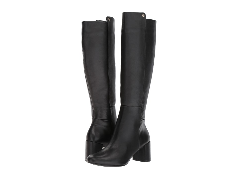 Taryn Rose - Carolyn (Black Silky Cow) Womens Dress Zip Boots