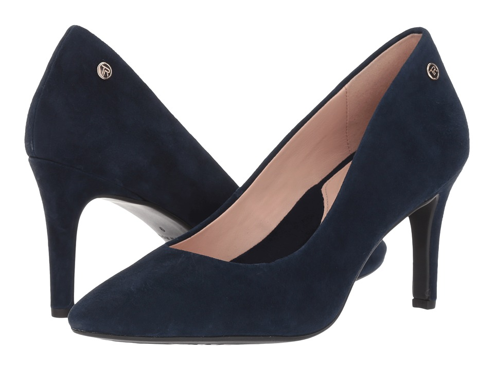 Taryn Rose Tamara (Navy Silky Suede) Women's Shoes