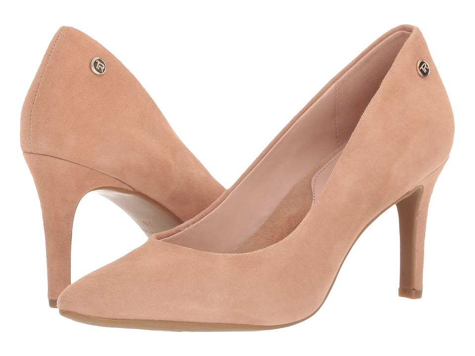 Taryn Rose Tamara (Soft Beige Silky Suede) Women's Shoes