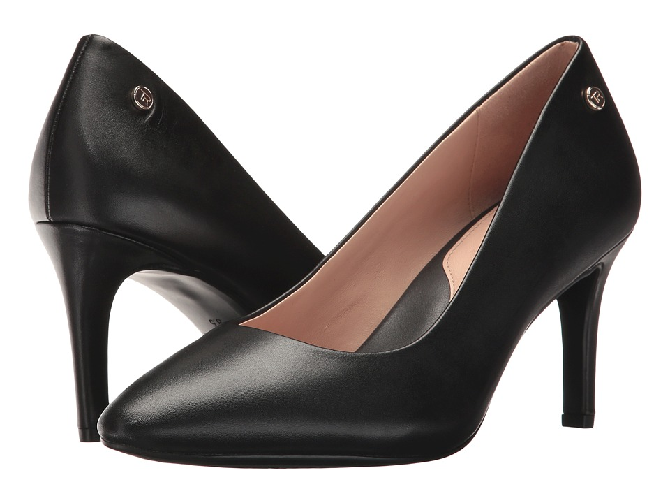 Taryn Rose Tamara (Black Nappa) Women's Shoes