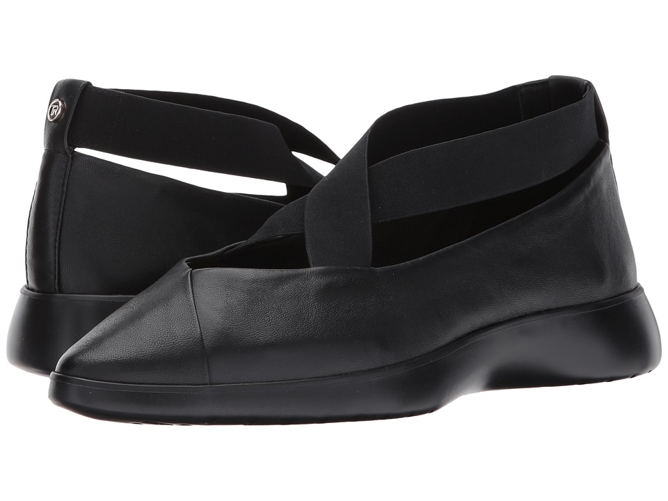 Taryn Rose - Danielle (Black/Black Nappa) Womens Shoes