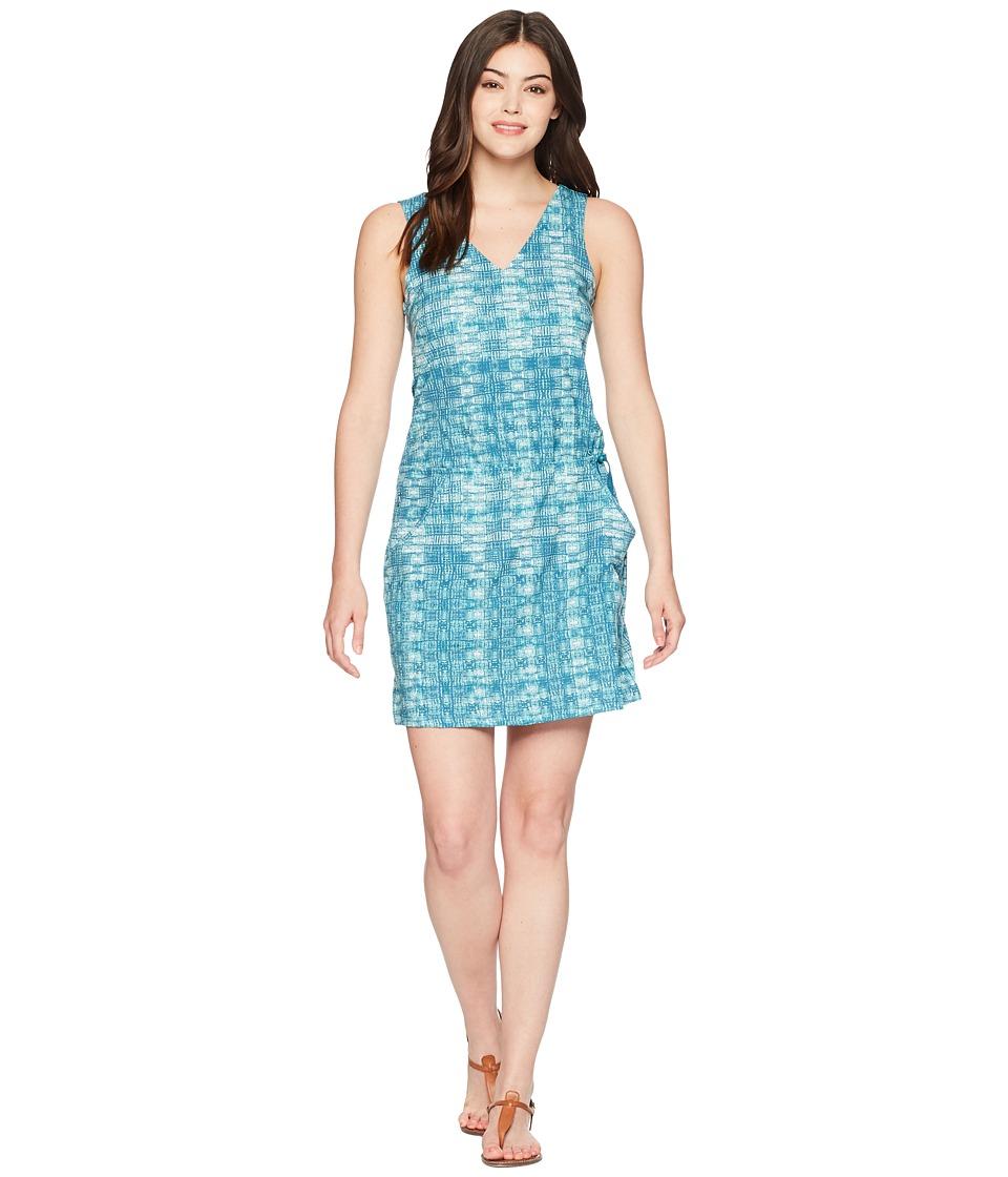 Toad&Co Liv Dress (Deepwater Layered Print) Women