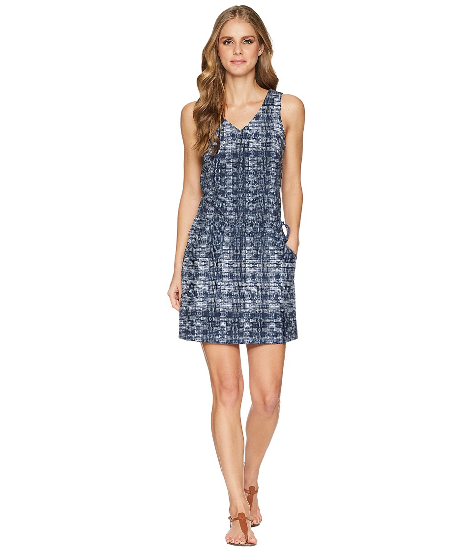 Toad&Co Liv Dress (Blueberry Layered Print) Women