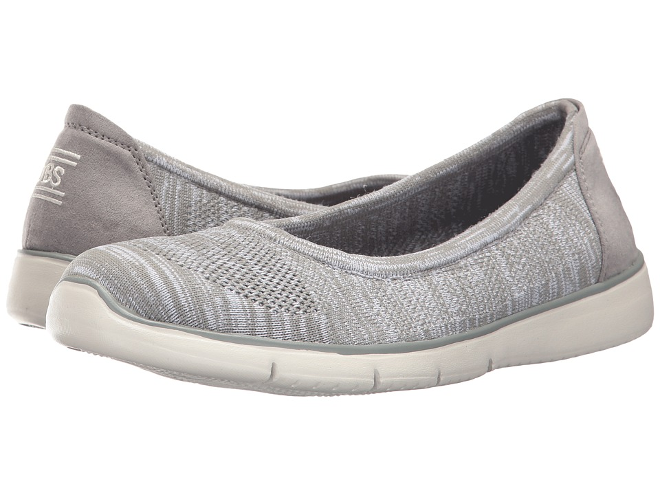 BOBS from SKECHERS Pureflex 2 Inlite (Light Gray) Women