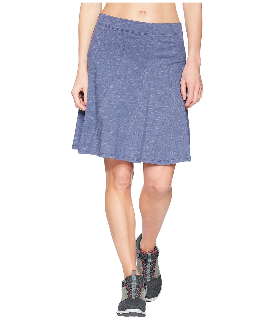 Toad&Co - Chachacha Skirt (Blueberry) Womens Skirt