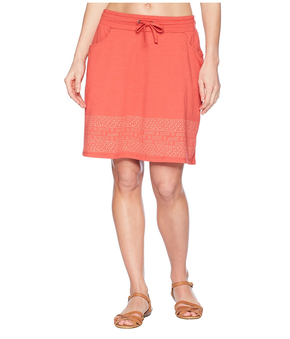 Toad&Co - Tica Skirt (Rhubarb Border Print) Womens Skirt