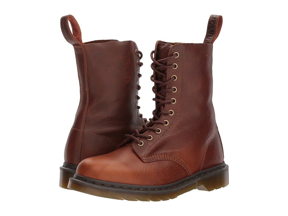 Dr. Martens 1490 (Tan Harvest) Lace-up Boots