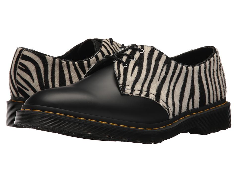 Dr. Martens 1461 Zeb (Zebra Hair On/Black Smooth) Boots