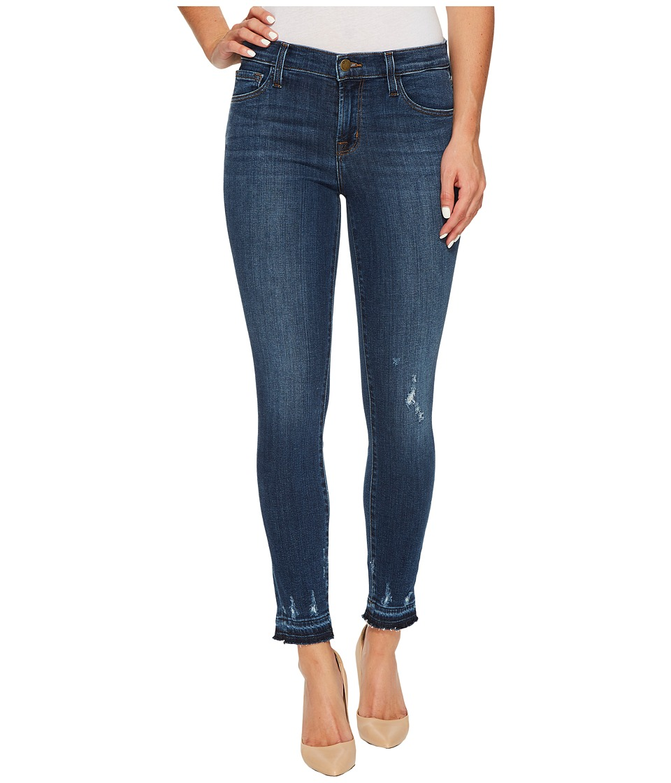 J Brand - 835 Mid-Rise Crop Skinny in Tonic