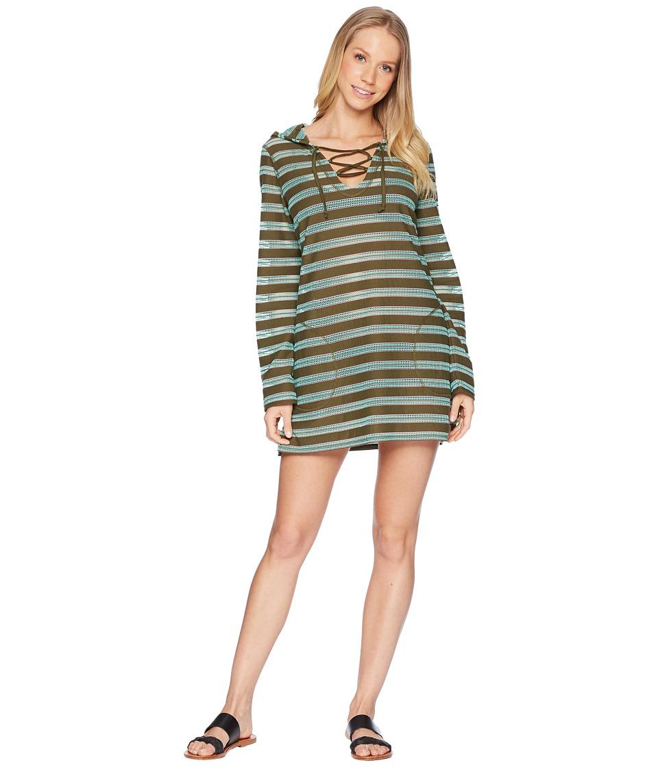 Prana - Alexia Tunic (Cargo Green) Womens Swimwear