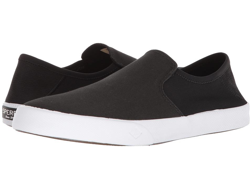 Sperry Striper II Slip-On Sneaker (Black) Men