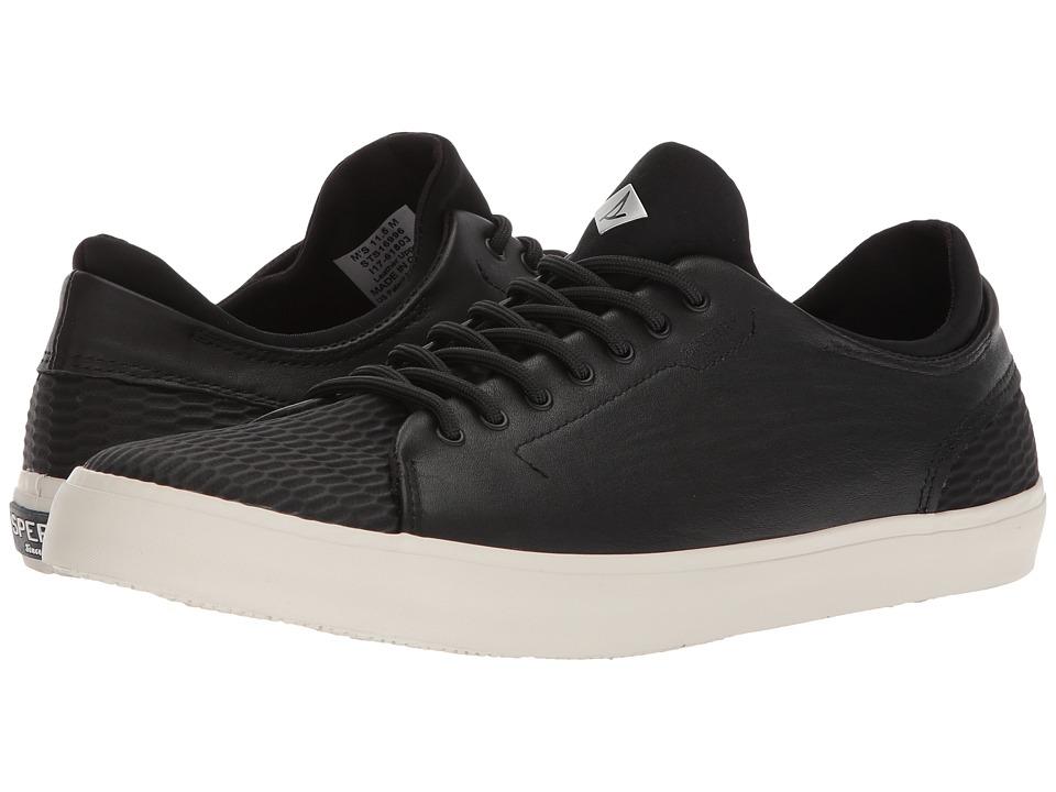 Sperry Flex Deck LTT Leather (Black) Men