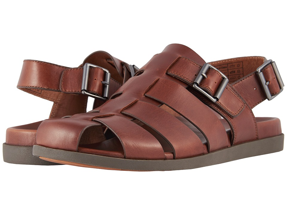 1940s Men's Fashion Clothing Styles VIONIC Gil Brown Mens Sandals $129.95 AT vintagedancer.com