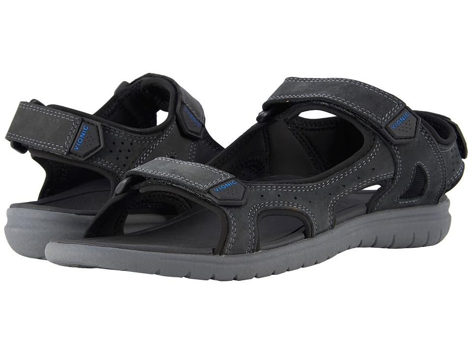 VIONIC - Neil (Black) Men's Sandals
