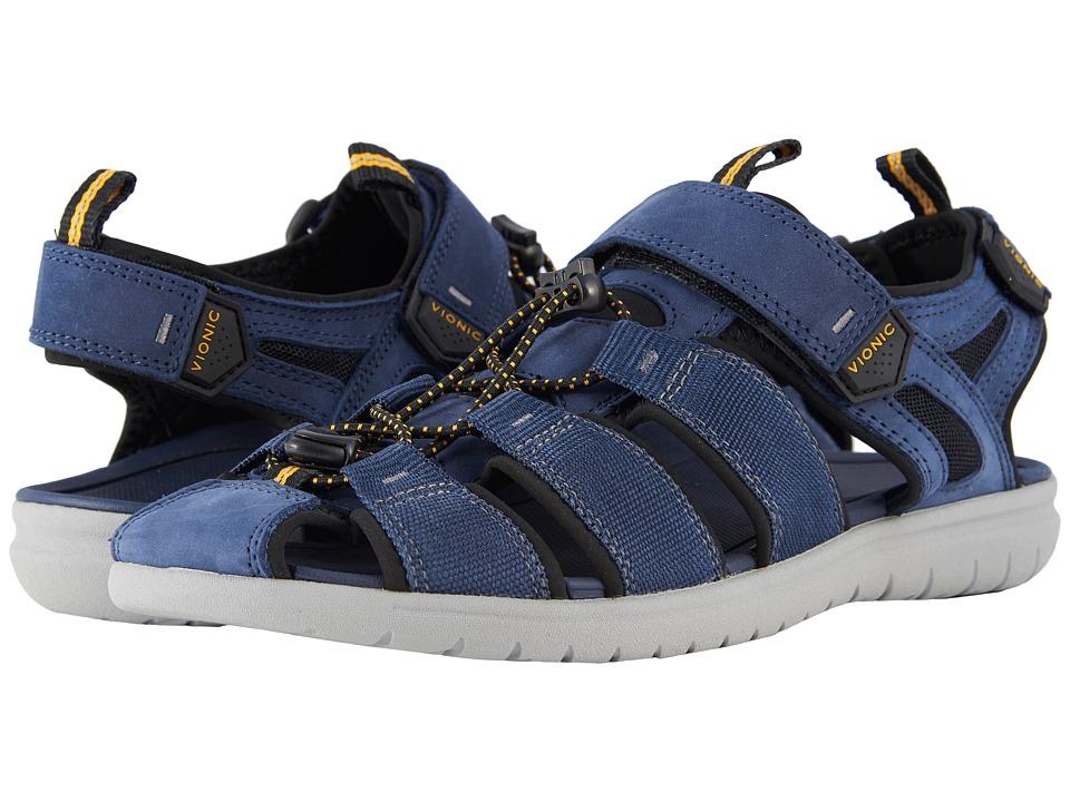 VIONIC - Nate (Navy) Men's Sandals