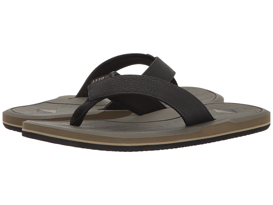 Reef - Machado Day Prints (Olive Coral) Men's Sandals