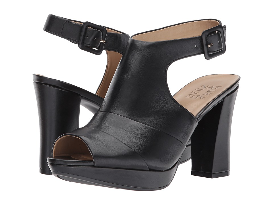 Naturalizer Adrie (Black Leather) Women