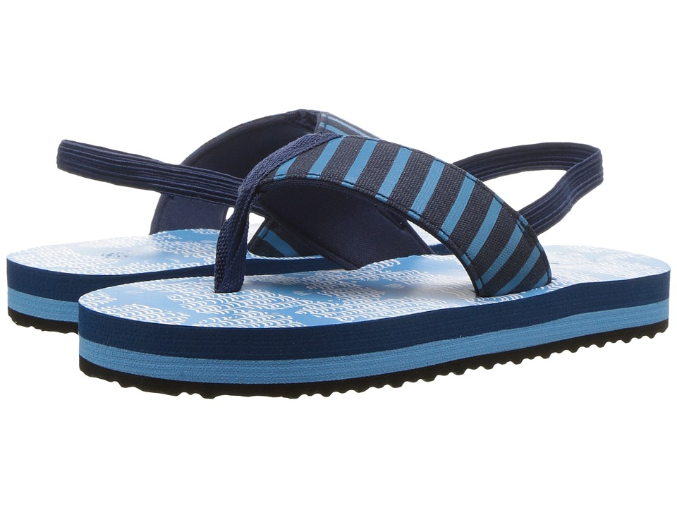 Hatley Kids - Sea Sharks Flip-Flop (Toddler/Little Kid) (Sea Sharks) Boys Shoes