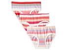 Toobydoo Star of Stripes 3-Pack Underwear Gift Box (Infant/Toddler/Little Kids/Big Kids)