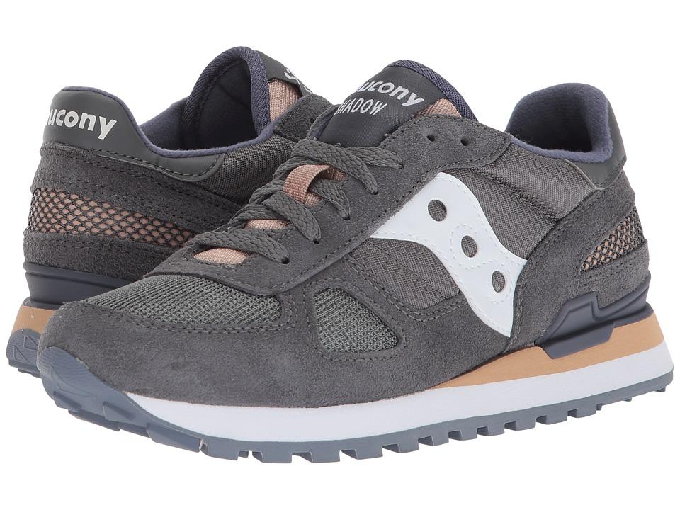 Saucony Originals Shadow Original (Grey/White) Women's Classic Shoes